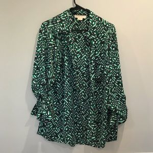Michael Kors Women's Patterned Blouse